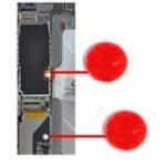 Sensores humedad placa base Iphone 4- 4S